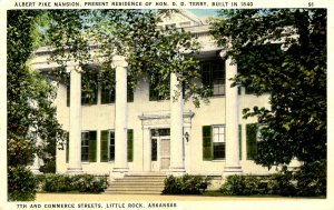 AR - Little Rock. Albert Pike Mansion