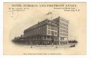 Hotel Elberon,Atlantic City,NJ / New Jersey 1907 PU