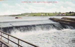 Dam above the Salmon Pool,  Bangor,  Maine,  PU_1908