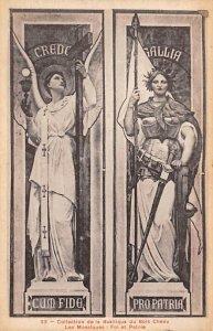 Statues / Monuments Postcard Basilique du Bois Chenu Unused
