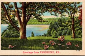 Pennsylvania Greetings From Vernfield