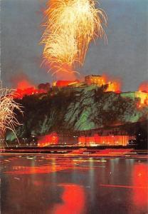 Koblenz am Rhein Festung Ehrenbreitstein Rhein in Flammen Fireworks Panorama