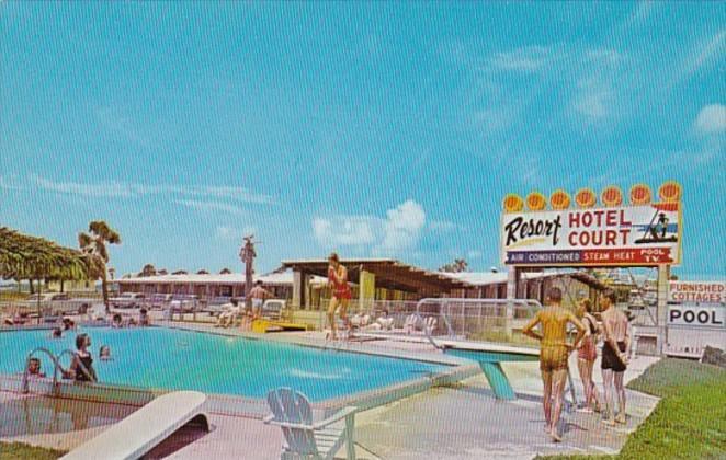 Florida Panama City Beach Resort Hotel Court Swimming Pool