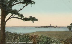 1000 ISLANDS, 1900-10s; Chimney Island