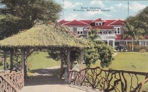 Hawaii Oahu Waialua Hotel Haleiwa sk5893