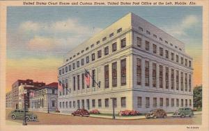 Alabama Mobile United States Court House And Custom House United States Post ...
