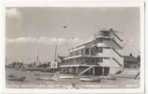 Essex; Royal Corinthian Yacht Club, Burnham On Crouch RP PPC, Unposted, c 1950's