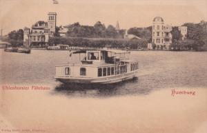 HAMBURG, Germany , 1890s-1900 ; Uhlenhorster Fahrhaus