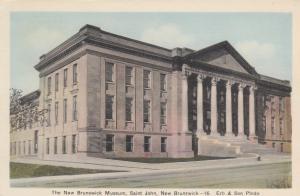 ST. JOHN,  New Brunswick , Canada , 1930s; Museum
