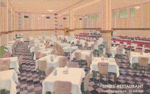 Florida Jacksonville Jenks Restaurant 1941