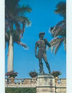 Unused Pre-1980 MUSEUM SCENE Sarasota Florida FL hr0528