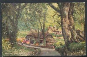 Devon Postcard - Buckland Cottages, Dartmoor RS11691