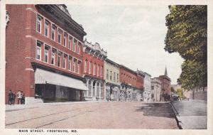 Main Street , FROSTBURG , Maryland, 10-20s