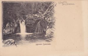 Lower Cascade, HOT SPRINGS, Virginia, 1900-1910s