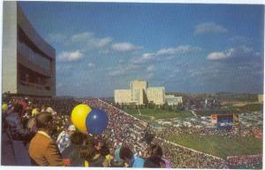 Football Stadium & Medical Center, West Virginia University, Chrome