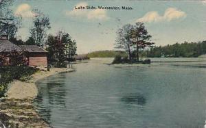 Lake side, Worcester, Massachusetts, PU-1912