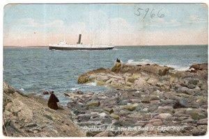 Portland, Me, New York Boat of Cape Shore