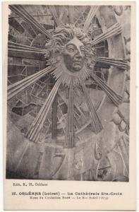 France, ORLEANS, La Cathedrale Ste-Croix, unused Postcard