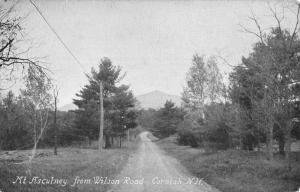 Cornish New Hampshire Mt Ascutney Street View Antique Postcard K85412