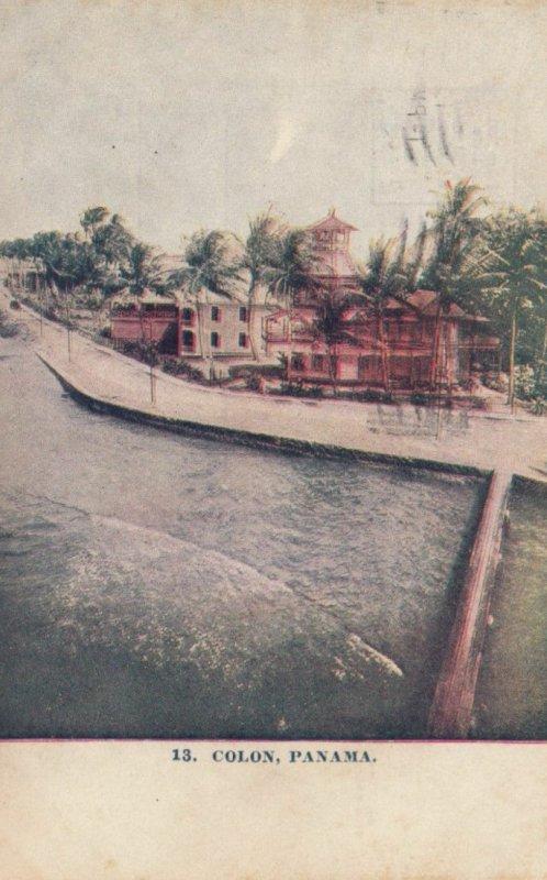 COLON, Panama, 1910