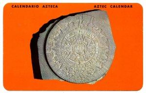 Mexico - Chapultepec Park. Aztec Calendar, Museum of Anthropology