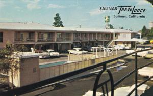 Salinas TraveLodge, Swimming Pool, Downtown SALINAS, California, 40-60s