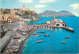 Postcard Modern Lipari short navy