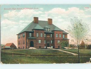 Corner Wear Divided-Back HIGH SCHOOL Newport New Hampshire NH k0576