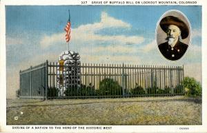 Famous People - Buffalo Bill's Grave, Lookout Mountain, Colorado