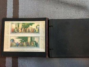 Antique Postcard Album Scrapbook Samuel Ward