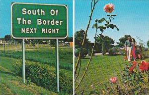 South Carolina South Of The Border Highway Sign
