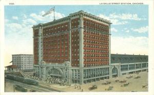 USA La Salle Street Station, Chicago- early 1900s unused ...