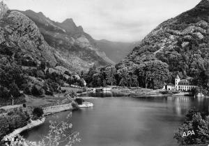 France Ax les Thermes Ariege Le Chateau d'Orgeix et son Lac