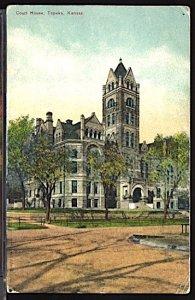 Court House Topeka Kansas (Pre 1920)
