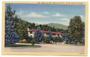 Lake Lure Inn (Exterior), Lake Lure, North Carolina, 1930-40s