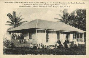 PC CPA SAMOA, PACIFIC, MISSIONARY SISTERS, Vintage Postcard (b19434)