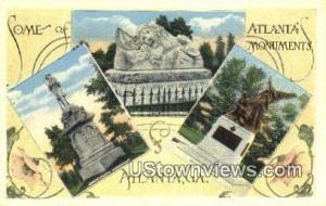 Peace Monument Atlanta GA Unused