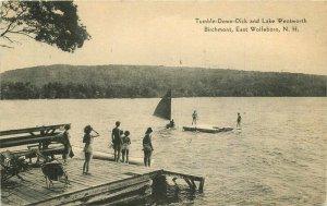 Birchmont Lake Wentworth Wolfeboro New Hampshire Goulds 1915 Postcard 20-12459