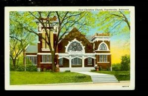 AR, Fayetteville, Arkansas, First Christian Church, Curtich