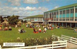 Vintage West Sussex Postcard, Butlins Bognor Regis, Sunbathing Lawns HR9