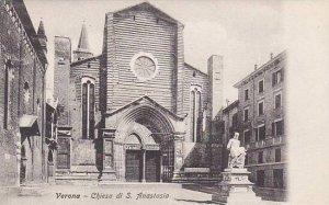 Italy Verona Chiesa di San Anastasia