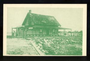 Camp Ellis, Maine/ME Postcard, The Old Depot, Publ By Jim's Red & White Store