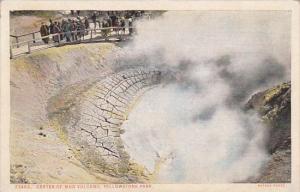 Wyoming Yellowstone Park Crater Of Mud Volcano