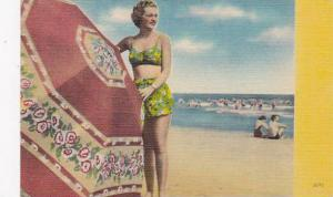Beautiful Girl In Bathing Suit