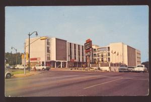 AUSTIN TEXAS DOWNTOWN STREET SCENE 1960's CARS VINTAGE POSTCARD