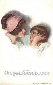 Rare All Mine Rare Artist Signed Harrison Fisher 1915 very light crease right...