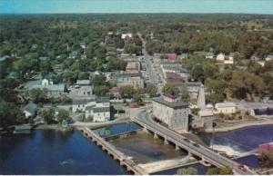 Canada Aerial View Of Fenelon Falls Ontario