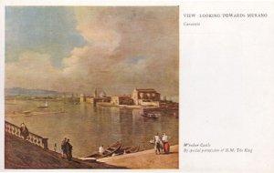 Canaletto Looking Towards Murano Antique Medici Society Postcard