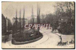 Postcard Old Lyon Jardin des Plantes