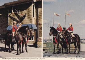 Halifax Junior Bengal Lancers in Ceremonial Uniform, HALIFAX, Nova Scotia, Ca...